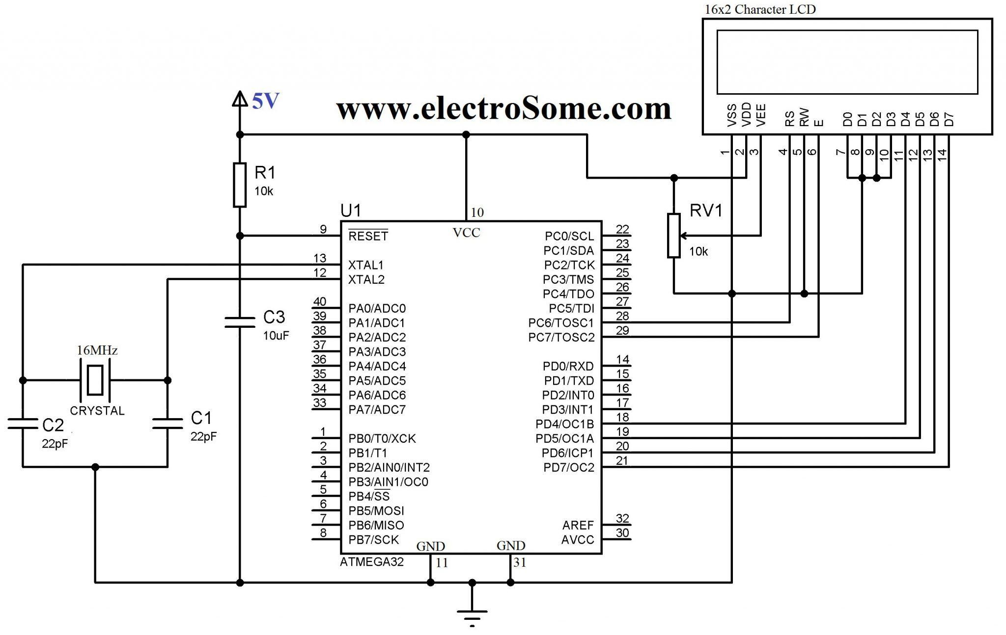lcd interfacing with pic16f877a pdf