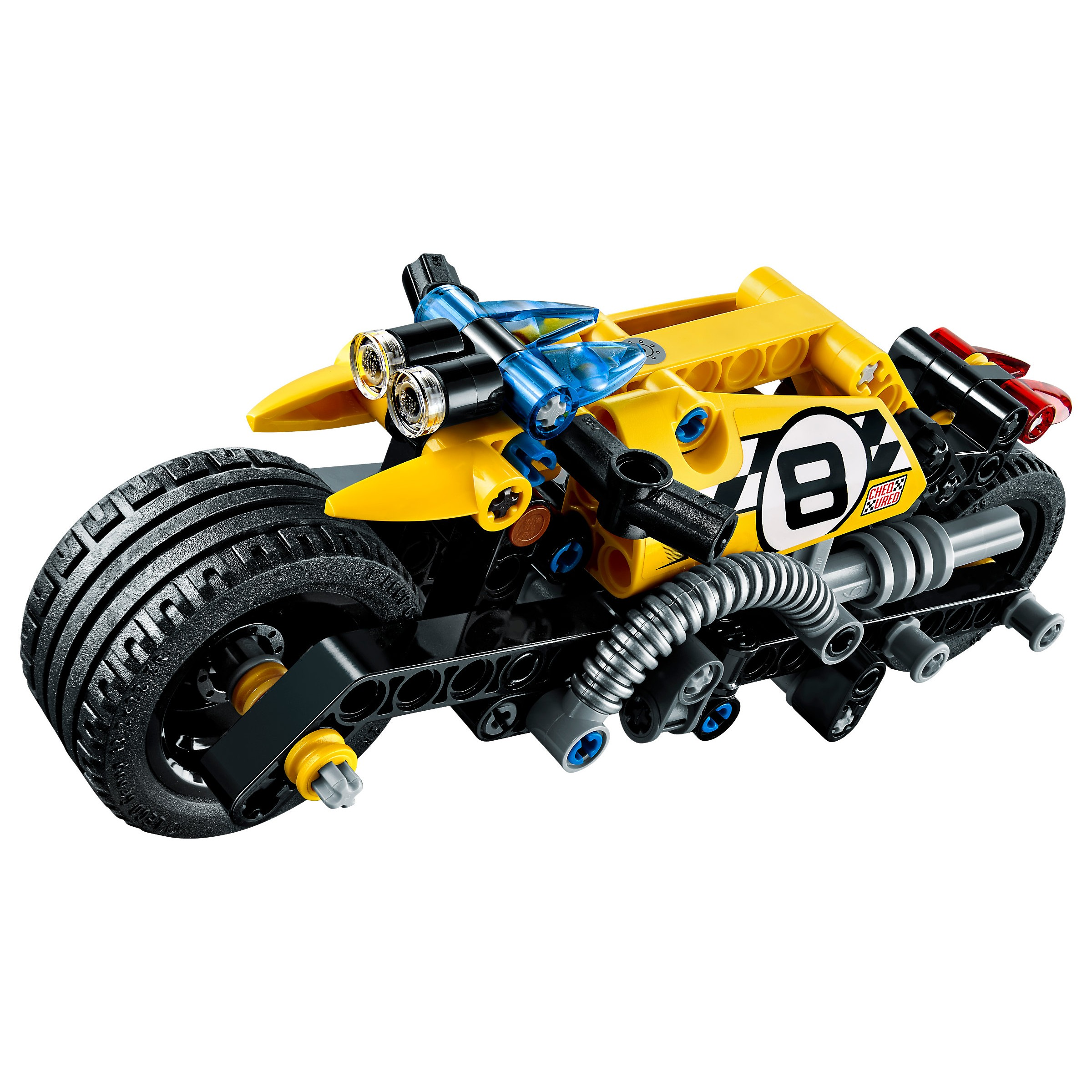 lego technic stunt bike instructions