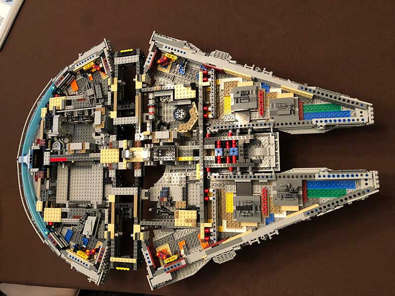lego ucs millennium falcon instructions