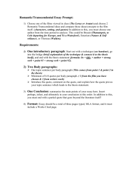 literary analysis essay outline pdf