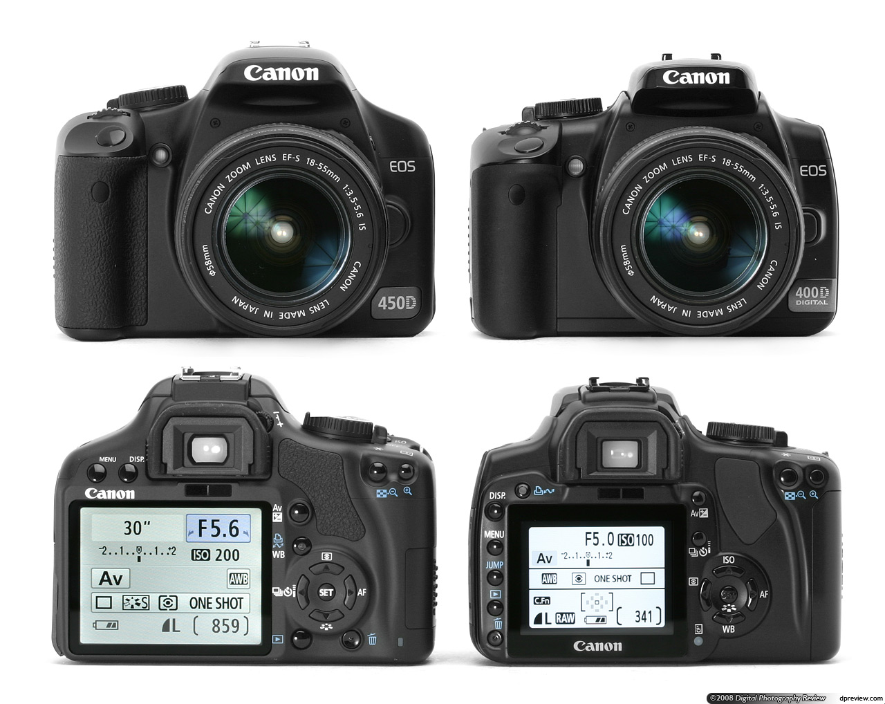manual for canon eos 400d
